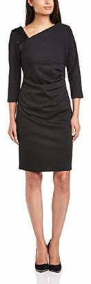 James Lakeland Women's Dress with Insert of Leather