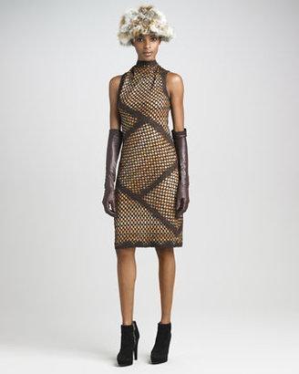 Missoni Funnel-Neck Knit Dress