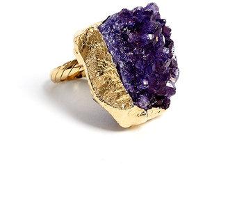 Ettinger UK Dara Lindsay Amethyst Cluster Ring