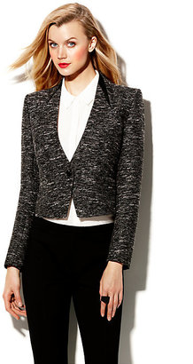 Vince Camuto Tweed And One Button Blazer