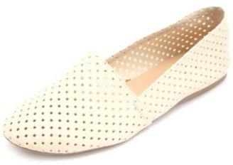 Charlotte Russe Laser-Cut Slip-On Flats