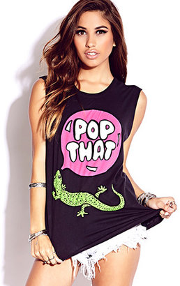 Forever 21 Pop That Muscle Tee