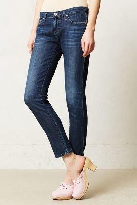 AG Jeans Stevie Ankle Jeans Glimpse 27 Denim