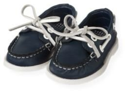 Janie and Jack Leather Boat Shoe