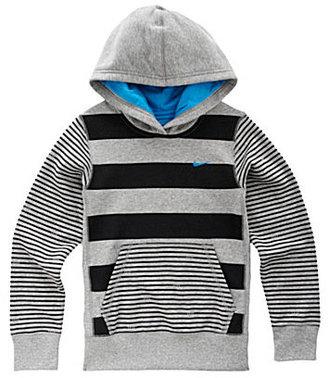 Nike 7-16 Striped Hoodie Jacket
