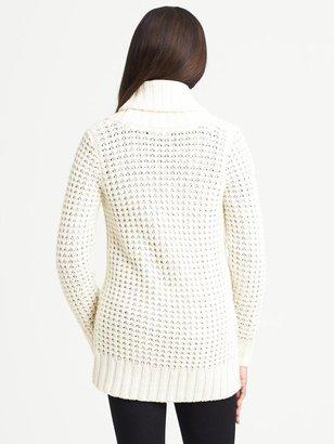 Banana Republic Shawl-Collar Sweater Coat