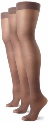 Hanes Women's Full Support Control Top Pantyhose (3 Pair)
