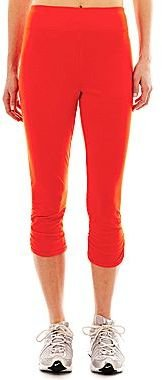 JCPenney Shirred Capris