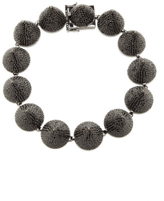 Eddie Borgo Extra Large Pave Crystal Cone Necklace