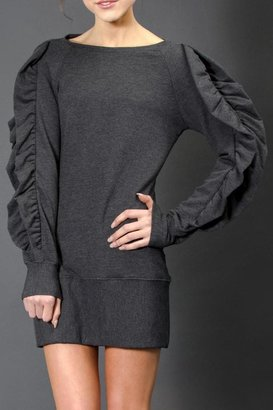 Trina Pierre Daisy Ruffle Dress