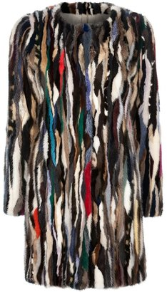 Le Sentier Mink fur coat