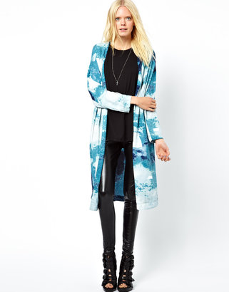 Just Female Printed Kimono