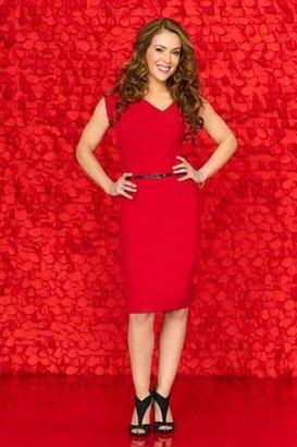 Black Halo Jackie O Sheath Dress in Red