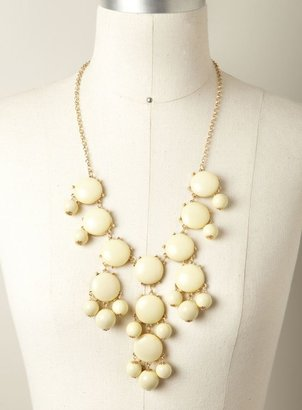 Stephan & Co Drop Cluster Necklace