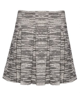 Alice + Olivia Davis Short Pleat Poof Skirt