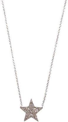 Jennifer Meyer Star Pendant Necklace-Colorless