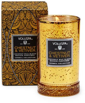 Voluspa Vermeil Chestnut and Vetiver Petite Candle (5.25 OZ)