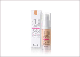 Benefit hello flawless oxygen wow deluxe sample brightening makeup, oil-free SPF 25 PA+++