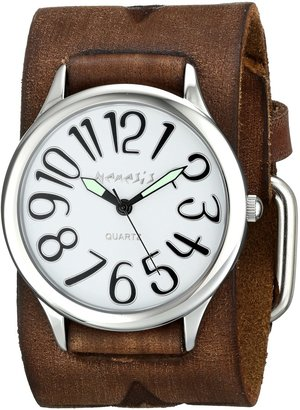 Nemesis Women's 108BFST-S Always Summer Series Analog Display Japanese Quartz Brown Watch