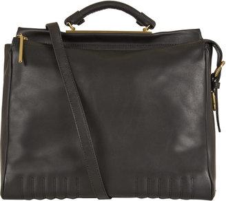 3.1 Phillip Lim Black Leather Ryder Bag