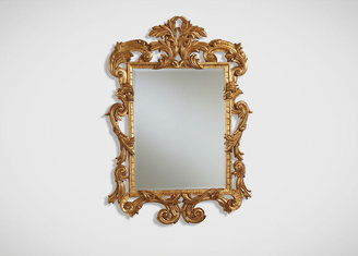 Ethan Allen Ornately Carved Mirror