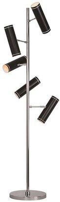 Renwil Camelyn 61 in. Stainless Steel Floor Lamp