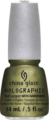 China Glaze Hologlam Nail Laquer with Hardeners Collection