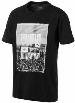 Puma Skyline Photo Graphic Tee