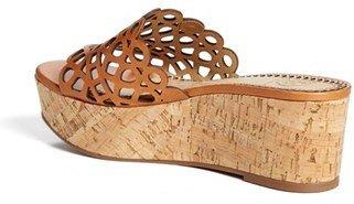 Tory Burch 'Dunn' Platform Sandal (Online Only)