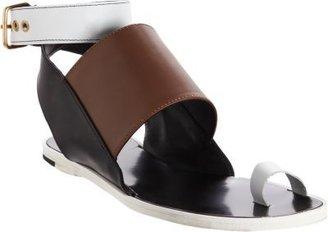 Pierre Hardy Tricolor Slingback Sandal