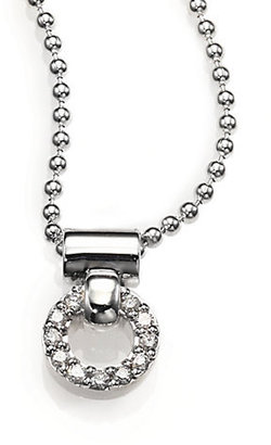 Lagos Diamond and Sterling Silver Necklace