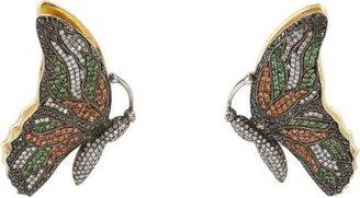 Sevan Biçakci Gemstone, Gold & Silver Butterfly Earrings