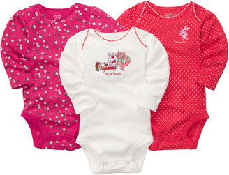 Osh Kosh 3-Pack Long-Sleeve Bodysuits