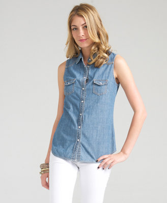 Forever 21 Love21 Casual Outings Denim Shirt