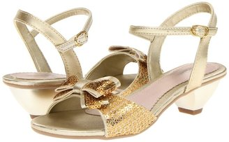 Pampili Mel 39202 (Little Kid/Big Kid) (Golden) - Footwear