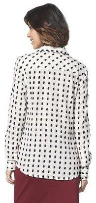 Merona Women's Favorite Button Down Shirt - Lawn