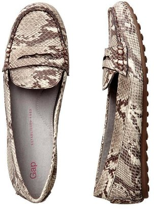 Gap Animal print loafers