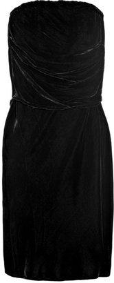 Vanessa Bruno Strapless velvet dress
