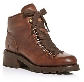 Frye Women's Alta Hiker Lace-Up Booties