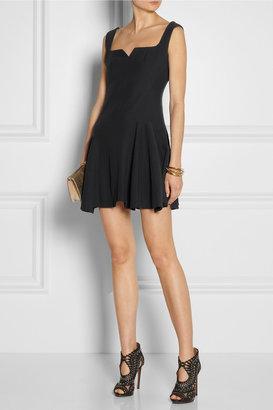 Alexander McQueen Crepe mini dress