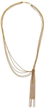 Wouters & Hendrix knotted tassel necklace