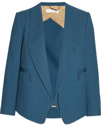 Chloé Wool-crepe blazer