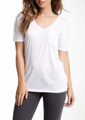 Couture Go Slub V-Neck Pocket T-Shirt