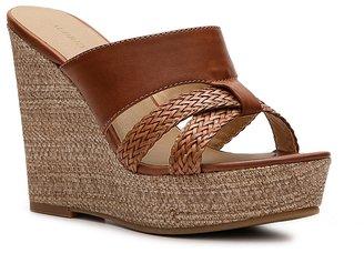 Audrey Brooke Ebony Wedge Sandal