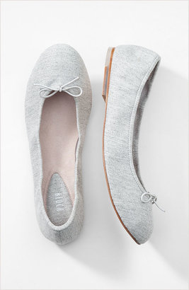 Bloch chambray denim ballet flats