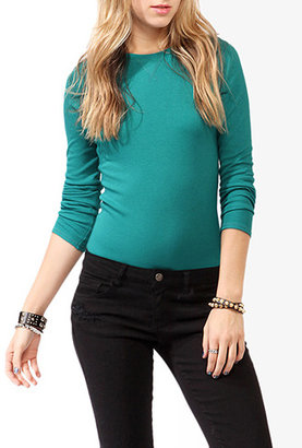 Forever 21 Long Sleeve Thermal Top