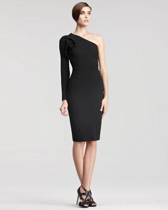 Elie Saab One-Sleeve Dress