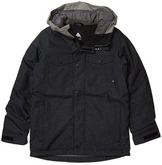 Burton Boys Uproar Jacket (Little Kids/Big Kids) (Black Denim 2) Boy's Coat
