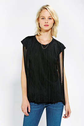Urban Outfitters Two By Two Fringe Tee