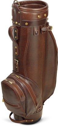 "Chiarugi Prestige 8"" Genuine Italian Leather Golf Bag"